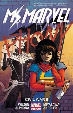 Ms. Marvel. Vol. 6, Civil War II cover image