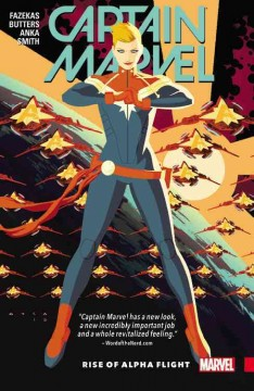 Captain Marvel. Vol. 1, Rise of alpha flight cover image