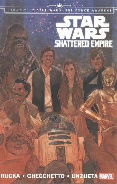 Star Wars : shattered empire cover image