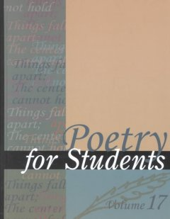 Poetry for students. Volume 20 presenting analysis, context and criticism on commonly studied poetry cover image