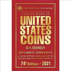A Guide book of United States coins cover image