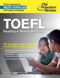 TOEFL reading & writing workout cover image