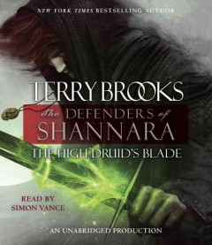 The high druid's blade cover image