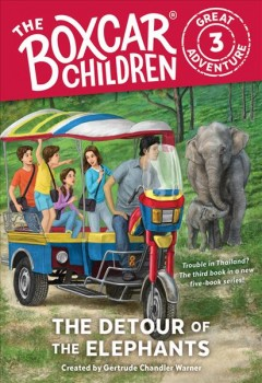 The detour of the elephants cover image