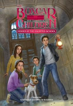 Hidden in the haunted school cover image