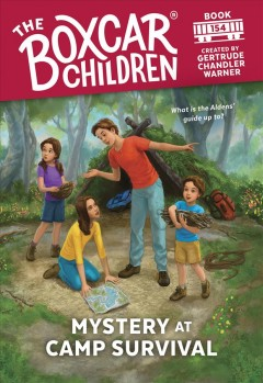 Mystery at Camp Survival cover image