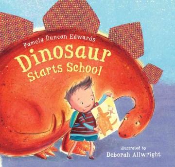 Dinosaur starts school cover image