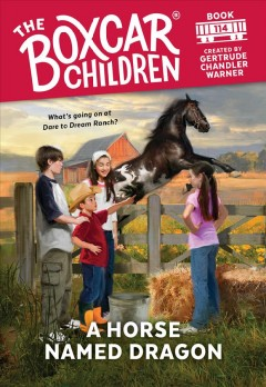 A horse named Dragon cover image