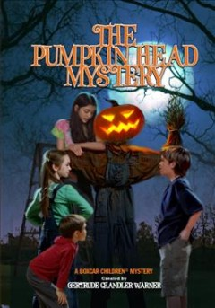 The pumpkin head mystery cover image