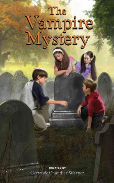 The vampire mystery cover image