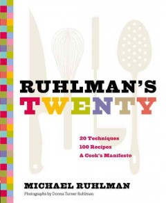 Ruhlman's twenty : the ideas and  techniques that will make you a better cook cover image