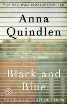 Black and blue : a novel cover image