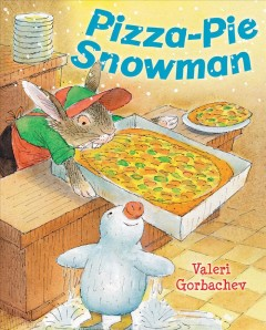 Pizza-pie snowman cover image