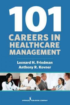 101 careers in healthcare management cover image