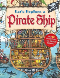 Let's explore a pirate ship cover image
