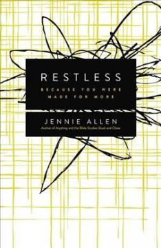 Restless : because you were made for more cover image