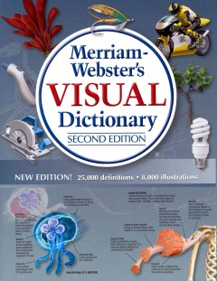 Merriam-Webster's visual dictionary cover image
