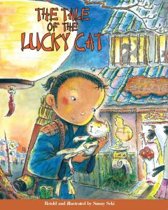 The tale of the lucky cat cover image