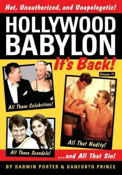 Hollywood Babylon : it's back! Volume 1 cover image