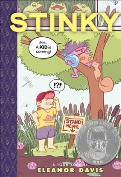 Stinky : a toon book cover image