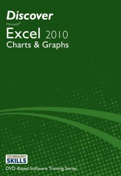 Discover Microsoft Excel 2010. Charts & graphs cover image