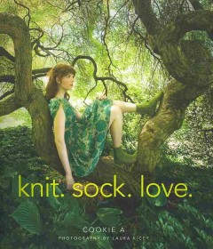 Knit, sock, love cover image