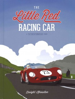The little red racing car cover image