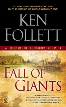 Fall of giants book one of the century trilogy cover image