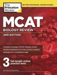 MCAT biology review cover image