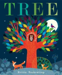 Tree : a peek-through picture book cover image