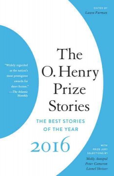 The O. Henry Prize Stories 2016 cover image