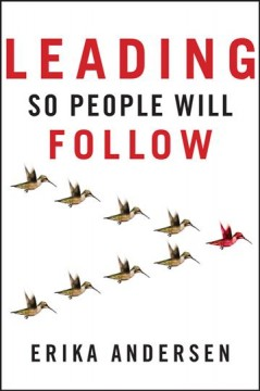 Leading so people will follow cover image