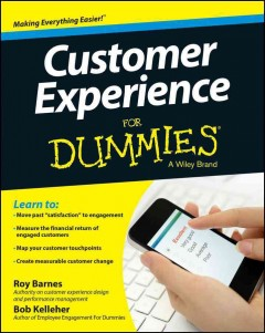 Customer experience for dummies cover image
