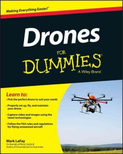 Drones for dummies cover image