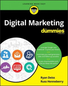 Digital marketing for dummies cover image