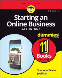 Starting an online business all-in-one cover image