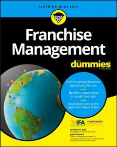 Franchise management / by Michael H. Seid, CFE, and Joyce Mazero, JD cover image
