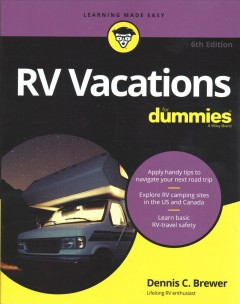 RV vacations for dummies cover image