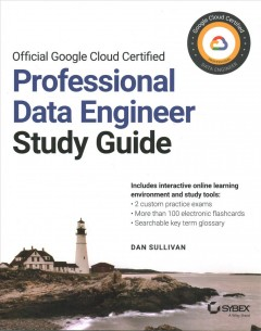 Official Google Cloud certified Professional Data Engineer study guide cover image