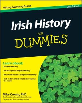 Irish history for dummies cover image