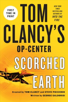 Tom Clancy's Op-center : scorched earth cover image
