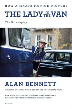 The lady in the van : the screenplay cover image