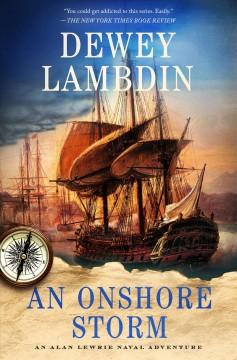 An onshore storm : an Alan Lewrie naval adventure cover image