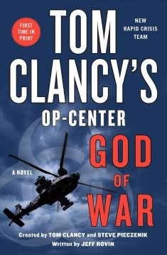 Tom Clancy's Op-Center. God of war cover image