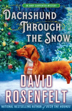 Dachshund through the snow cover image
