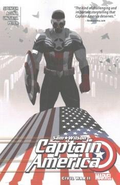 Captain America, Sam Wilson. Vol. 3, Civil war II cover image