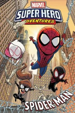 Marvel super hero adventures. Spider-Man cover image