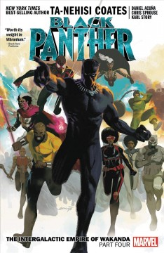 Black Panther 9 : The Intergalactic Empire of Wakanda cover image
