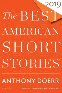 The best American short stories 2019 cover image