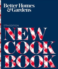 Better homes and gardens new cook book cover image